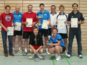 Die Aktiven nach der Siegerehrung 2011